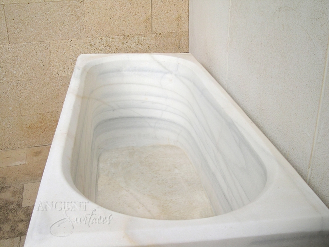 Antique Marble Tub