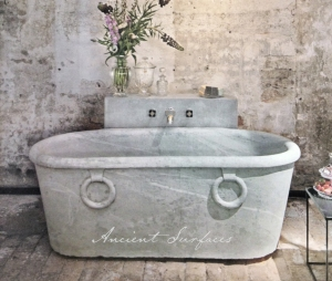 Carrara Marble Bath Tub